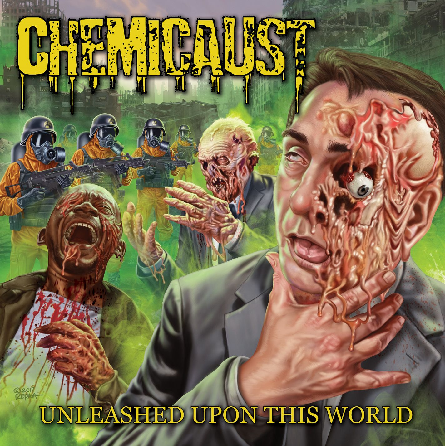 2018 Heavy Metal Debut Album of the Year Winner — Chemicaust (Dallas