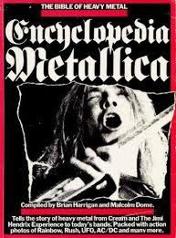 encyclopedia metallica october 1st 1981 original pressing 1st issuse.kam95555