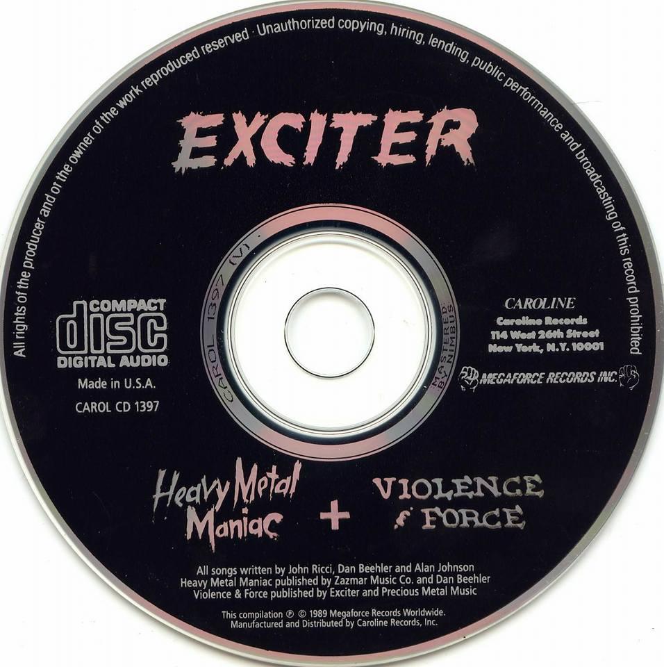 Exciter Heavy Metal Maniac Heavy Metal Hall of Fame KAM1397