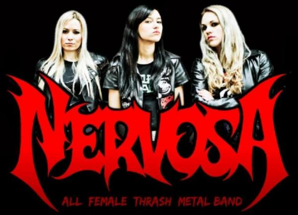 Nervosa Thrash Metal Gods And Metal Legends