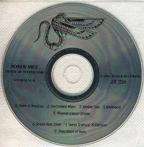 Zoser Mez Vizier of Wasteland KICK ASS METAL KAM98000000