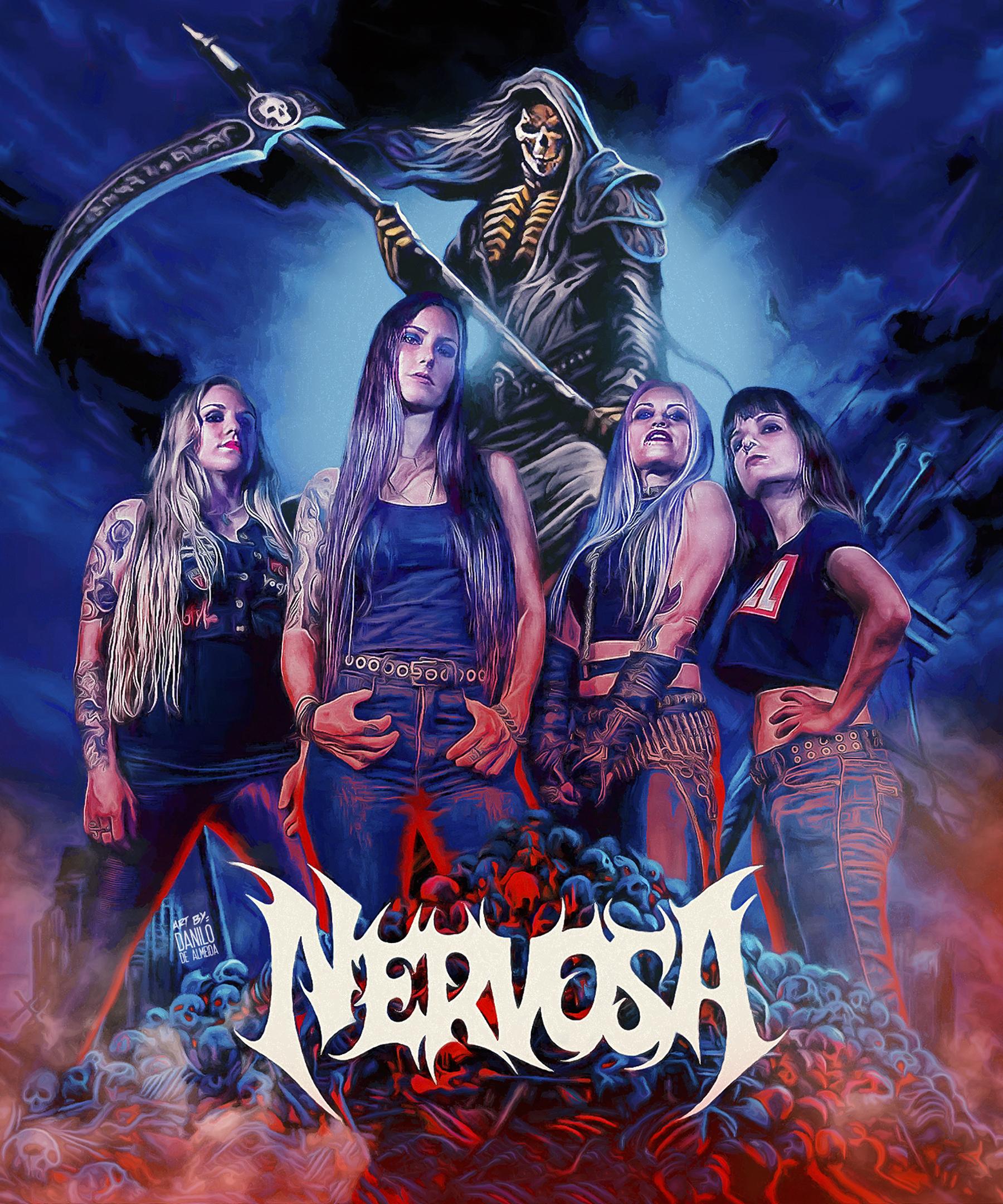 Nervosa Worlds Greatest Thrash Metal Band of all-time KAM99872021