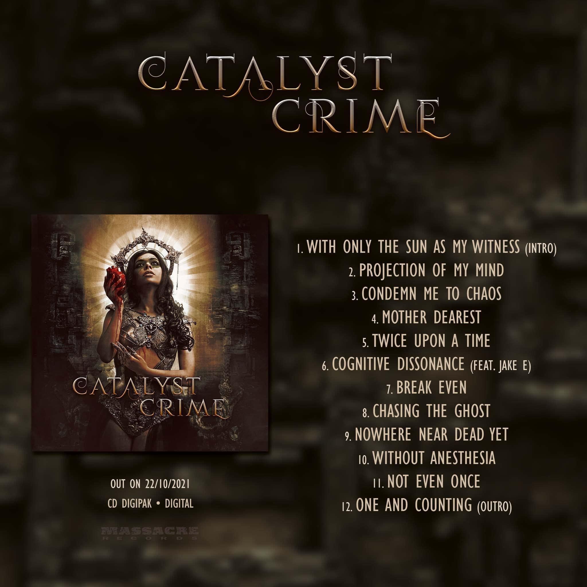 Catalyst Crime KICK ASS METAL KAM9870000